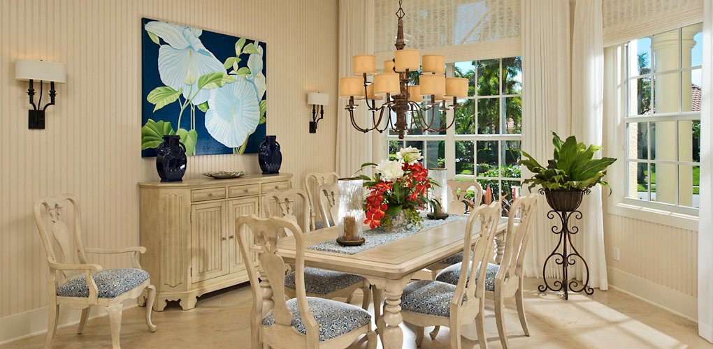 Marco Aqua (Marco Island, FL) private residence interior design by Linda Burke Interiors